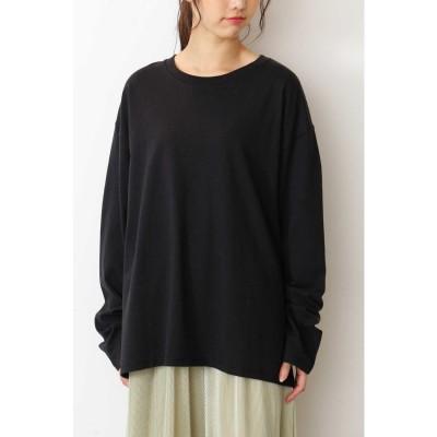 ビッグロングTシャツ ブラック