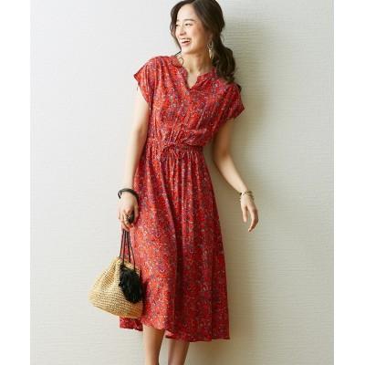 着映え◎バンダナ柄ワンピース (ワンピース)Dress