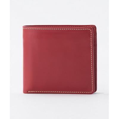 <Whitehouse Cox/ホワイトハウスコックス> 二つ折り財布(小銭入れ付)(S7532) レッド【三越伊勢丹/公式】