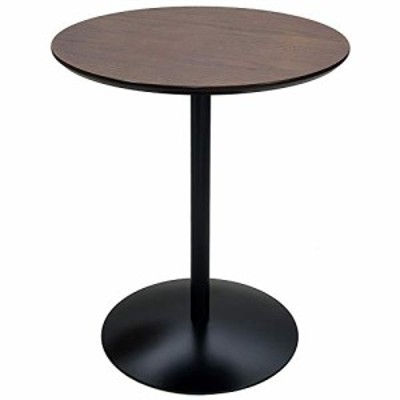(新品)宮武製作所 サイドテーブル Santos 幅45x奥45x高さ53.5cm ブラウン 天然木使用 ST-019 BR