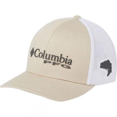 コロンビア Columbia メンズ キャップ トラッカーハット 帽子 PFG Mesh Trucker Hat Fossil/Grill/White/Bass