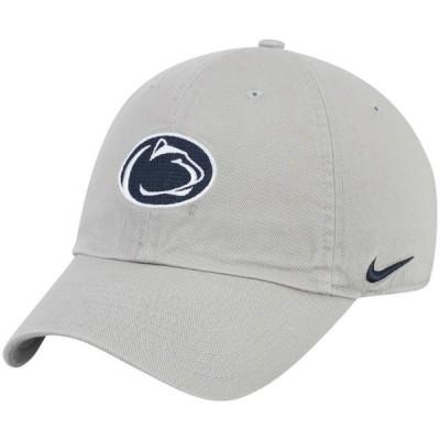 ユニセックス スポーツリーグ アメリカ大学スポーツ Penn State Nittany Lions Nike Heritage 86 Performance Adjustable Hat - Gray -