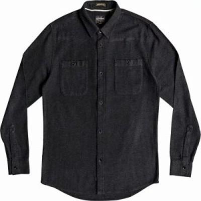 クイックシルバー シャツ Irish Rocks Flannel Shirts Dark Shadow