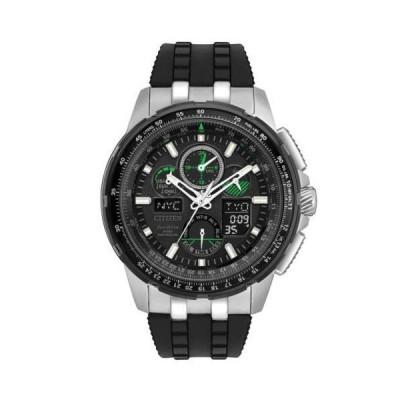 腕時計 シチズン Citizen JY8051-08E Gent's Skyhawk Ana-Digi Eco-Drive Chrono Watch