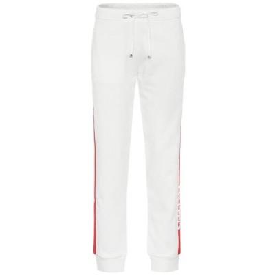 モンクレール Moncler レディース スウェット・ジャージ ボトムス・パンツ Cotton-blend trackpants