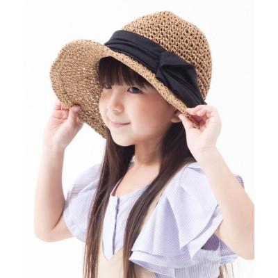 帽子屋ONSPOTZ / イロドリ キッズ IROAKU AKURI KIDS ストロー ハット KIDS 帽子 > ハット