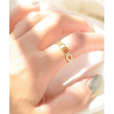指輪 F&D : ナローチェーンリング