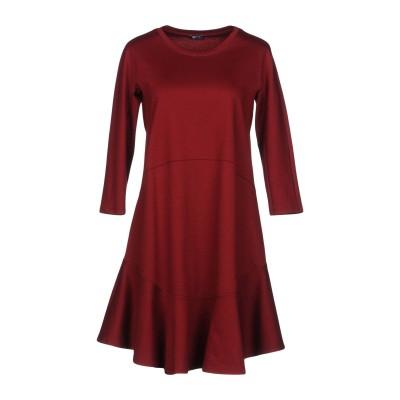 JIL SANDER NAVY ミニワンピース&ドレス レンガ 34 コットン 100% ミニワンピース&ドレス