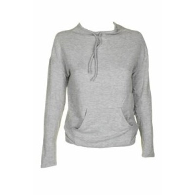 GUESS ゲス ファッション トップス Guess Juniors Light Grey Long-Sleeve Funnel-Neck Active Sweater XS