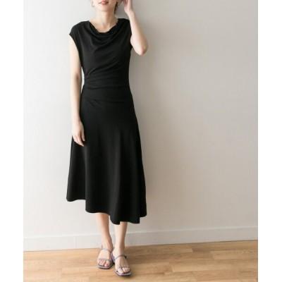 【アーバンリサーチ】 BY MALENE BIRGER AIDIA Dress レディース ブラック S URBAN RESEARCH