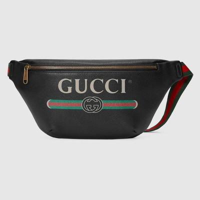グッチ GUCCI☆メンズGucci Print leather belt bagベルトバッグ【530412 0GCCT 8164 】【送料無料】【正規品】