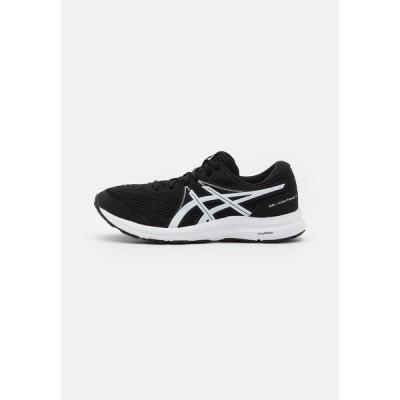 アシックス シューズ メンズ ランニング GEL CONTEND 7 - Neutral running shoes - black/white