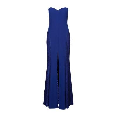 SOANI ロングワンピース&ドレス ブライトブルー 46 ポリエステル 100% ロングワンピース&ドレス