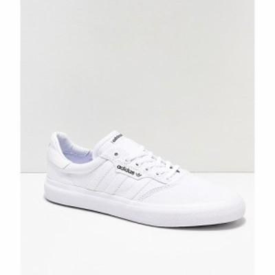 アディダス ADIDAS メンズ スケートボード シューズ・靴 adidas 3MC White Shoes White