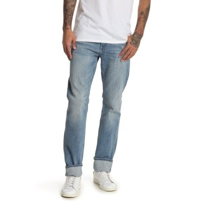 7フォーオールマンカインド メンズ デニムパンツ ボトムス Straight Leg Slim Fit Jeans WASHED OUT