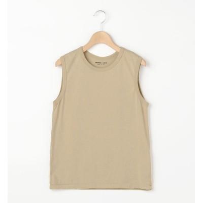 【ビショップ/Bshop】 【MORRIS & SONS】クルーネックノースリーブTシャツ WOMEN