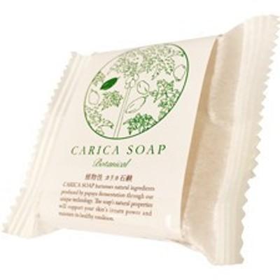 植物性カリカ石鹸 30g 袋入り  化学物質等を一切加えていない石鹸素地に、パパイアの発酵食品である『カリカセラピPS-501』を配合