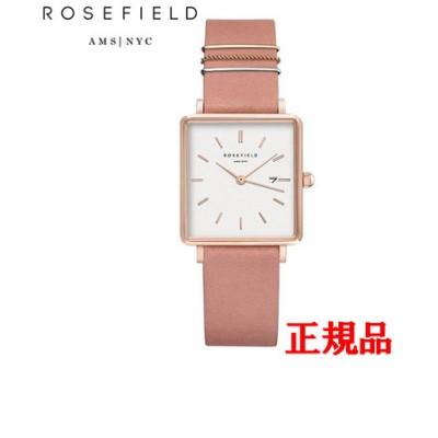 正規品 ROSEFIELD ローズフィールド The Boxy クォーツ メンズ腕時計 QOPRG-Q026