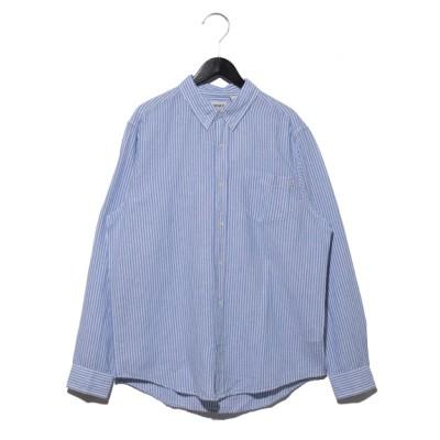 Timberland[メンズ] (ティンバーランド) シャツ ブルー S