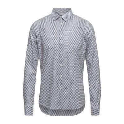 SSEINSE シャツ ココア S コットン 97% / ポリウレタン 3% シャツ