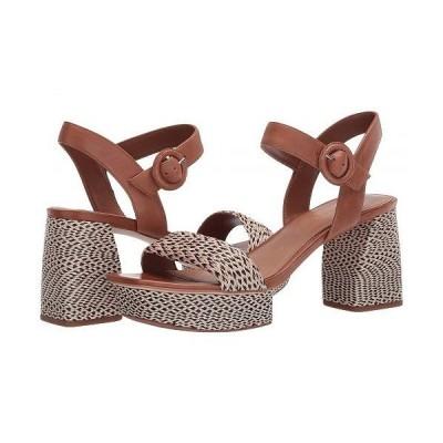 Bernardo バーナード レディース 女性用 シューズ 靴 ヒール Reagan Heeled Sandal - Natural/Black Multi Raffia
