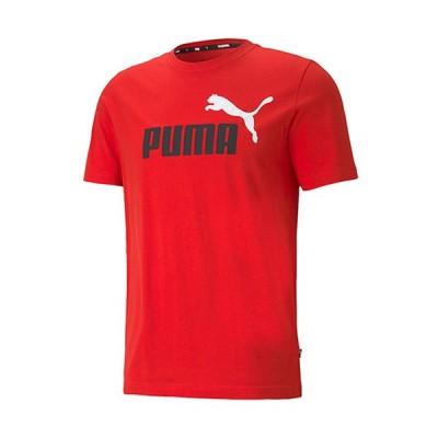 プーマ(PUMA) メンズ レディース ESS+ 2 COL ロゴ Tシャツ ハイリスクレッド 589012 11 半袖 トップス スポーツウェア