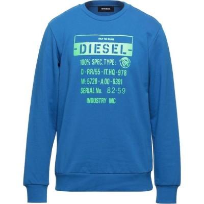 ディーゼル DIESEL メンズ スウェット・トレーナー トップス sweatshirt Blue