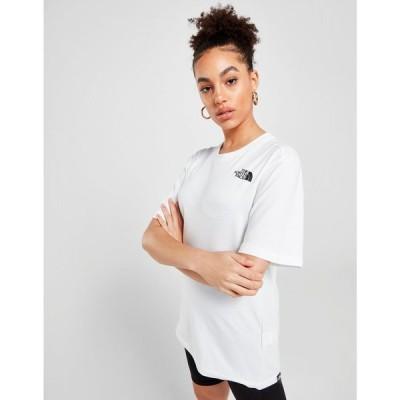ザ ノースフェイス The North Face レディース Tシャツ トップス Back Graphic Boyfriend T-Shirt white