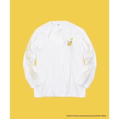 tシャツ Tシャツ PCG ポケモン L/S + Vスタートデッキ1個&「ピカチュウ」と「ミュウ」のポケモンコイン2個付き