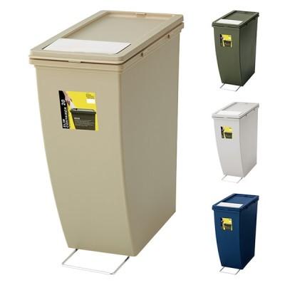 ゴミ箱 20L スリムコンテナ LFS-847 幅20.3x奥行38.3x高さ43cm 東谷