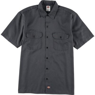 ディッキーズ Dickies 半袖 ワークシャツ メンズXL /eaa029960