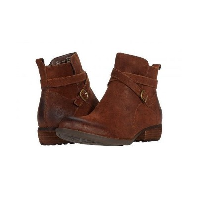 Born ボーン レディース 女性用 シューズ 靴 ブーツ アンクル ショートブーツ Faywood - Rust Distressed
