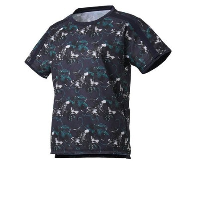 デサント(DESCENTE)フラワーグラフィック 半袖Tシャツ DMWQJA52 NV