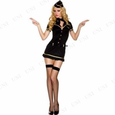 コスプレ 仮装 マイル・ハイ・クラブ スチュワーデス ML コスプレ 衣装 ハロウィン 仮装 大人用 コスチューム 女性 スチュワーデス キャ