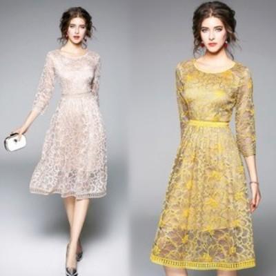 パーティードレス 大きいサイズ 結婚式 体型カバー お呼ばれドレス 結婚式 ドレス お呼ばれ ワンピース 30代 20代 パーティドレス 二次会
