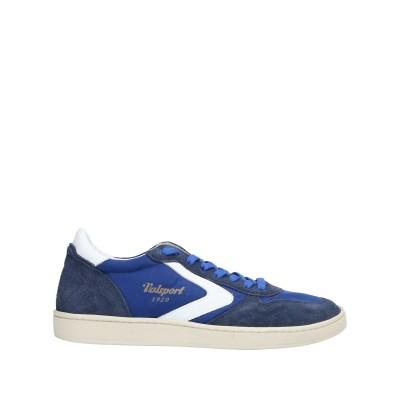 VALSPORT スニーカー&テニスシューズ(ローカット) ブルー 40 革 / 紡績繊維 スニーカー&テニスシューズ(ローカット)