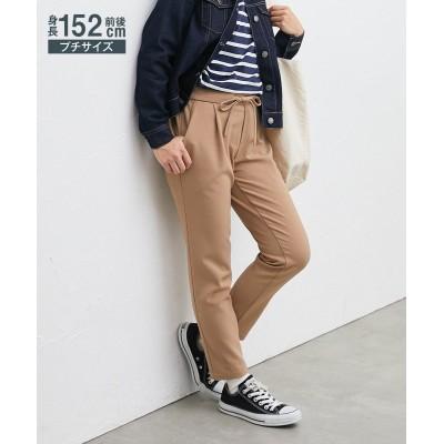 小さいサイズ ウール調ドロストパンツ 【小さいサイズ・小柄・プチ】パンツ, Pants