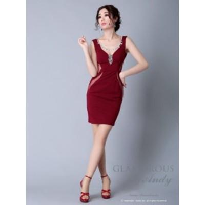 GLAMOROUS ドレス GMS-V579 ワンピース ミニドレス Andyドレス グラマラスドレス クラブ キャバ ドレス パーティードレス