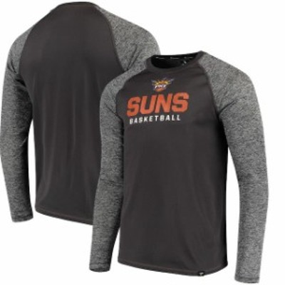 Fanatics Branded ファナティクス ブランド スポーツ用品  Fanatics Branded Phoenix Suns Black Static Long Sleeve T-Shirt