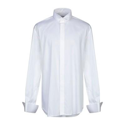 パル ジレリ PAL ZILERI シャツ ホワイト 42 コットン 100% シャツ