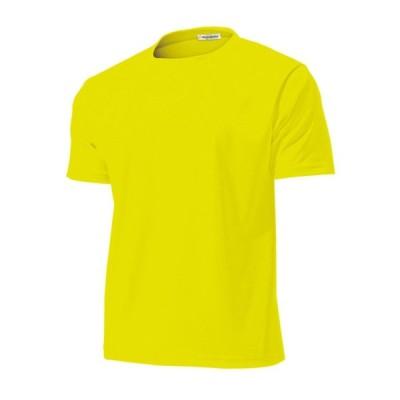 wundou(ウンドウ) 【旧フロリダウインド】タフ ドライ 吸汗 速乾 Tシャツ イエロー P110-21 イエロー S
