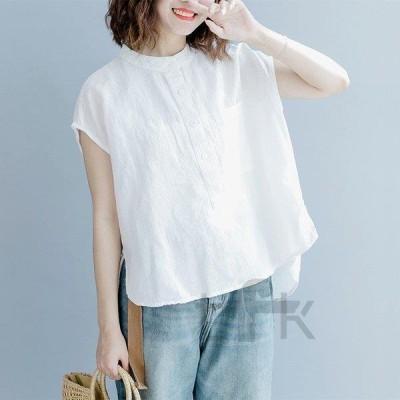 カットソー Tシャツ 半袖 トップス ドルマン 無地 大人 女性 オーバーサイズ チュニック ゆったり 体型カバー レディース 30代 40代 夏 秋