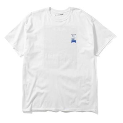 PARKS PROJECT パークス プロジェクト AKAN MASHU TEE 半袖Tシャツ 21SS-003 WHITE ホワイト