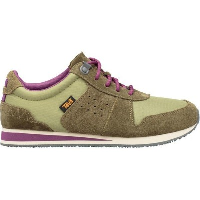 テバ スニーカー レディース シューズ Highside '84 Shoe - Women's Calliste Green/Dark Olive