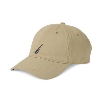 ナウティカ 帽子 アクセサリー メンズ Logo Baseball Cap Khaki