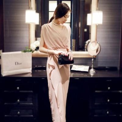 パーティードレス 結婚式 二次会 ワンピース ロング ロングスカート パーティドレス お呼ばれドレス