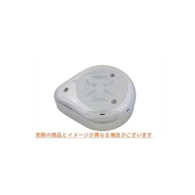 【取寄せ】Tear Drop Air Cleaner Maltese Chrome  V-TWIN 品番 34-0628  (参考品番: )  Vツイン アメリカ USA
