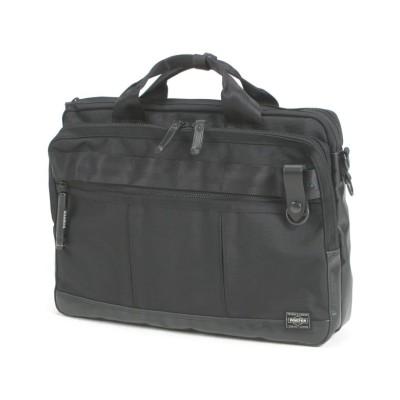 【カバンのセレクション】 吉田カバン ポーター ヒート ビジネスバッグ メンズ レディース ブランド 2WAY A4 PORTER 703-07883 ユニセックス ブラック フリー Bag&Luggage SELECTION