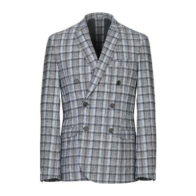 TRAIANO テーラードジャケット グレー 48 ナイロン 73% / ポリウレタン 27% テーラードジャケット