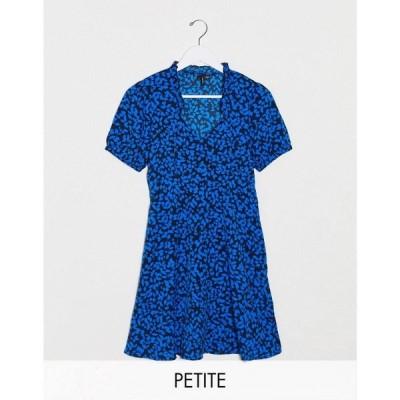 ヴェロモーダ Vero Moda レディース ワンピース ワンピース・ドレス Petite Floral Tea Dress ナイトスカイ